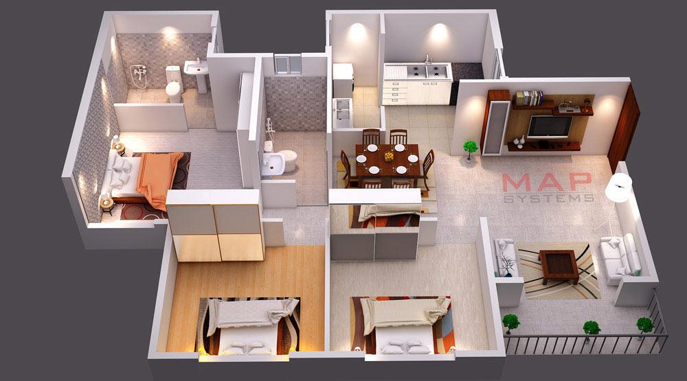 3d Floor Plan Design Services, How To Make A House Plan 3d