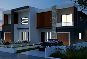 exterior architectural 3D modeling designs