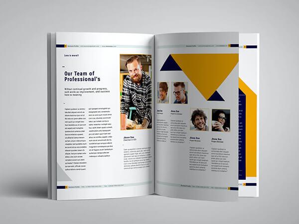 Multi page design