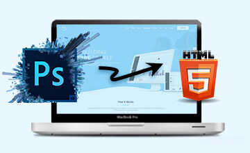 psd to HTML5 file conversion
