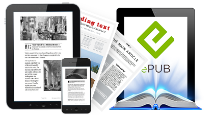 Fixed Layout ePub Conversion Services