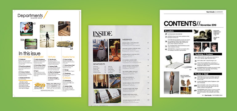 Making a magazine layout in indesign