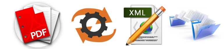 convert pdf to xml