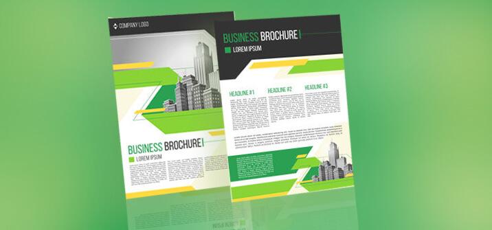 sales support brochure design