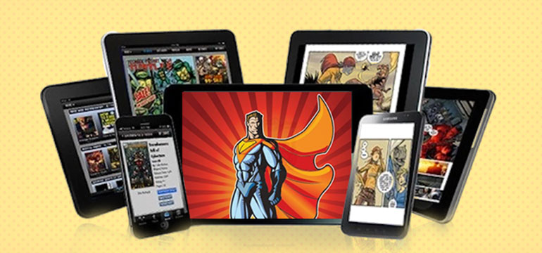 digital comic book creation