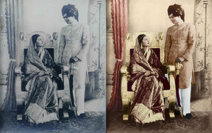 old photo restoration techniques