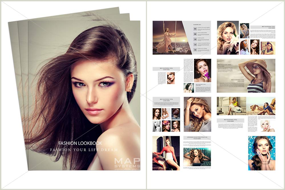 digital magazine design