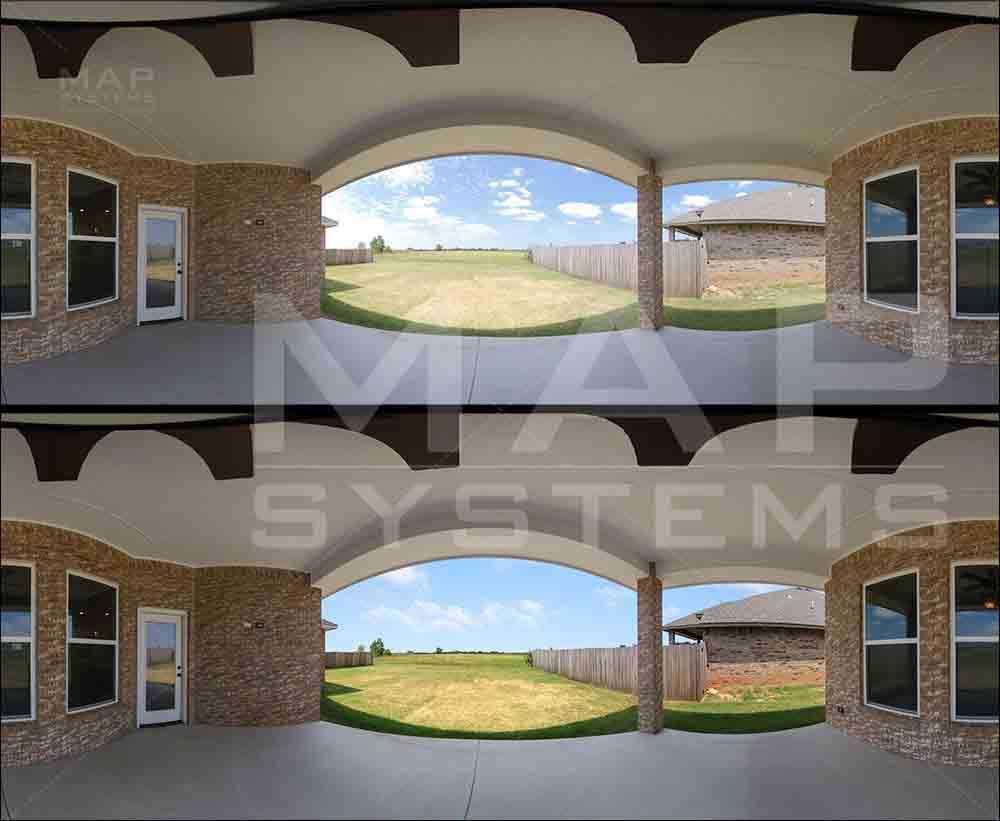 360 degree photo enhancement