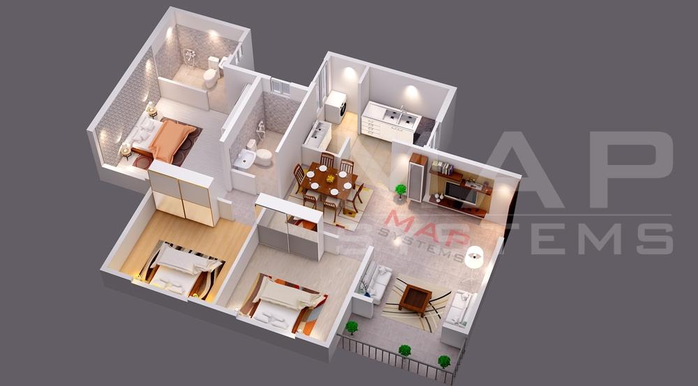 floor plan designing 3d