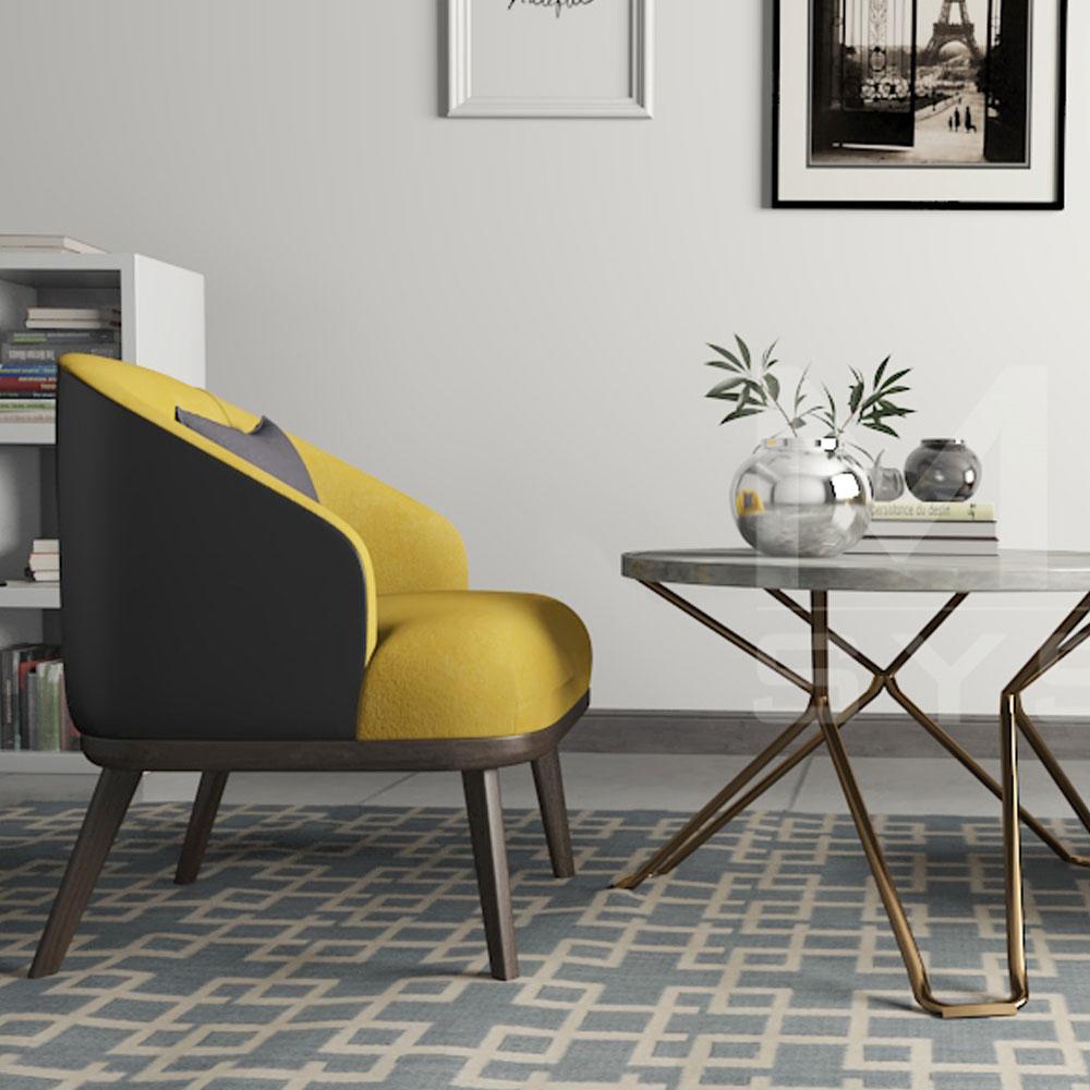 3D furniture design of a living room