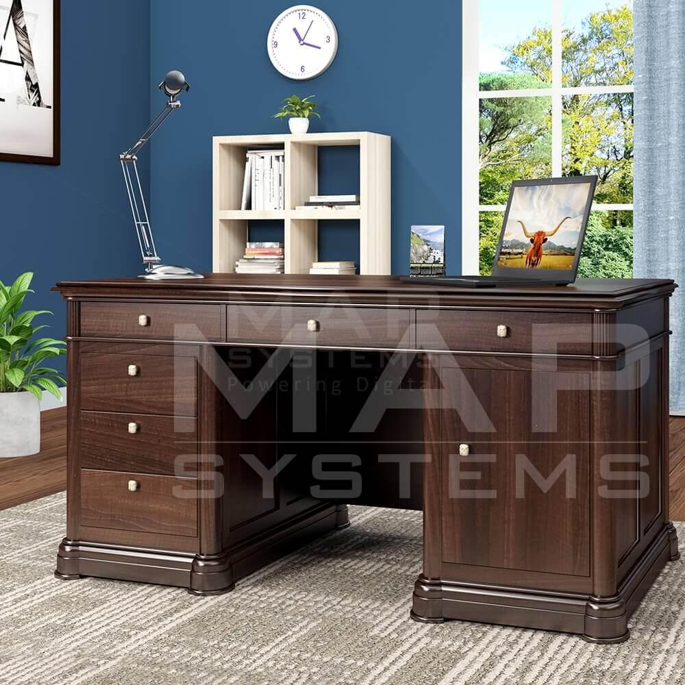 executive desk 3d furniture design