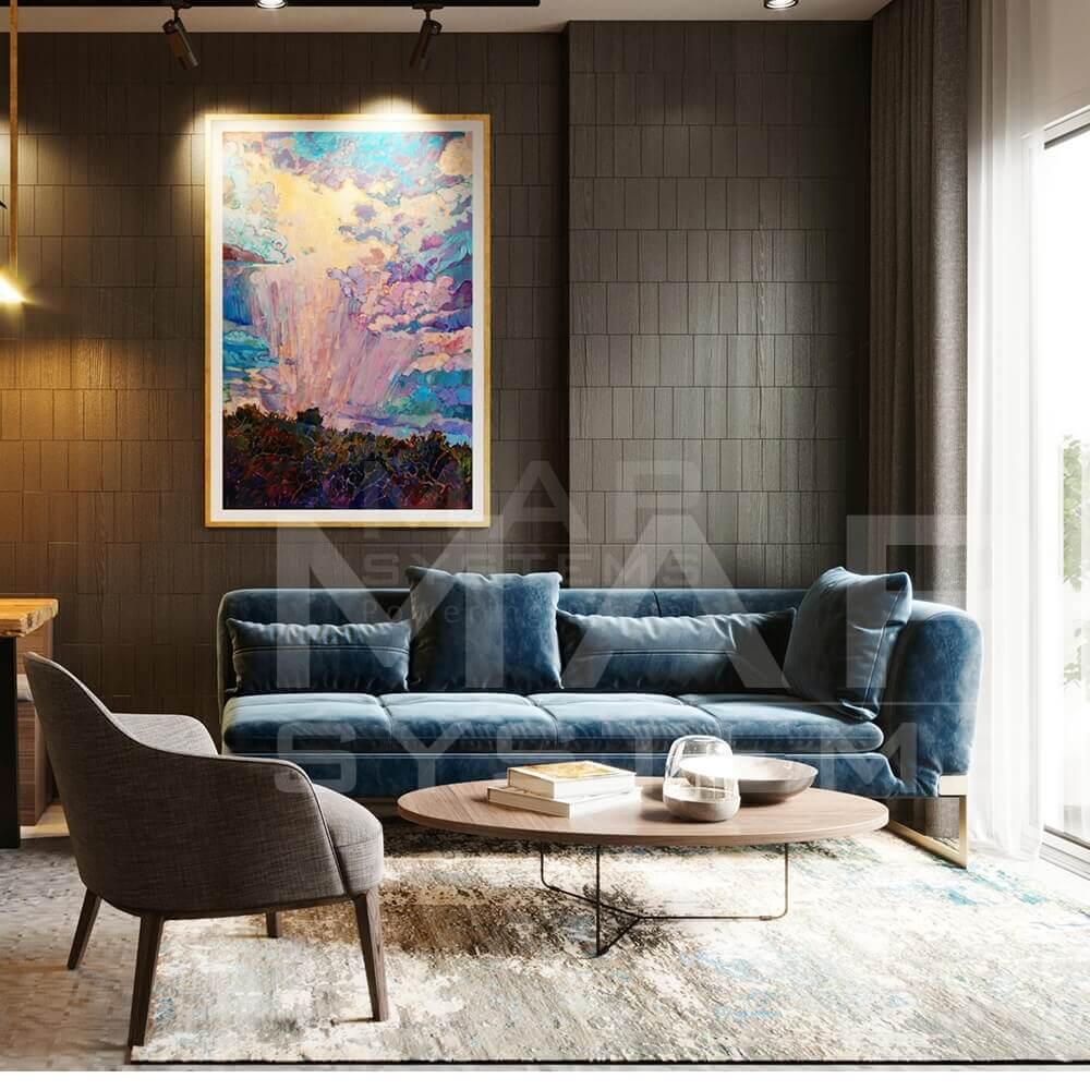 apartment furniture 3d modeling design