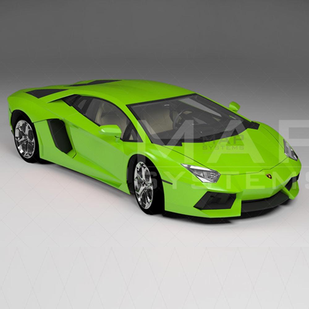car 3d model design
