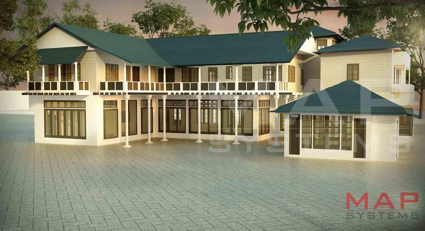 3d max vray exterior rendering