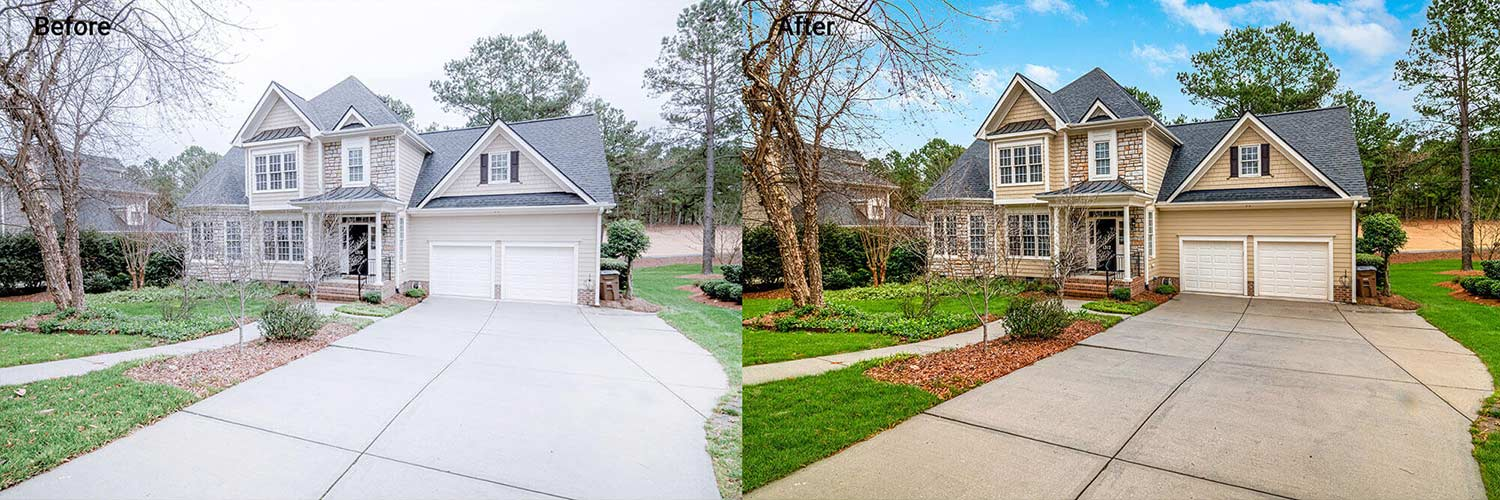 sky change exterior replacement