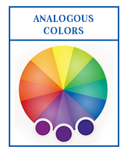 analogous colors for logo
