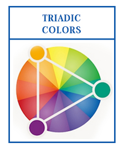 triadic colors for logo